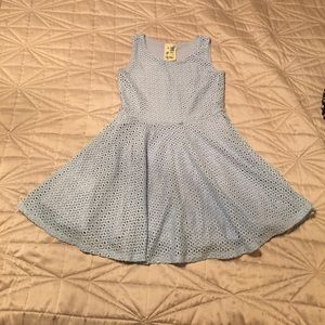 Beautiful Dress for Girl lily blue